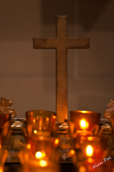Cross, Amen<br /> Saint Patrick Church