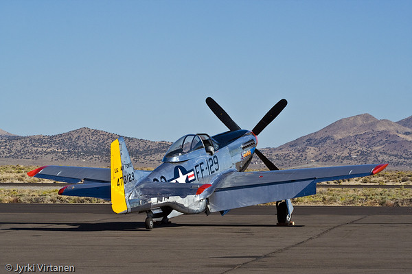 "P51D ""Merlin's Magic"" - Reno Air Races 2007, NV, USA"
