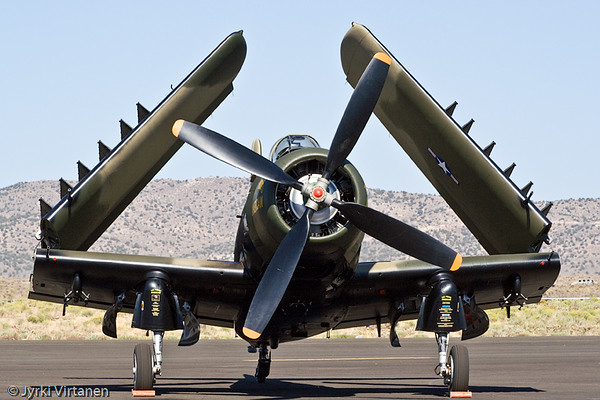 "A-1H Skyraider ""The Proud American"" - Reno Air Races 2007, NV, USA"
