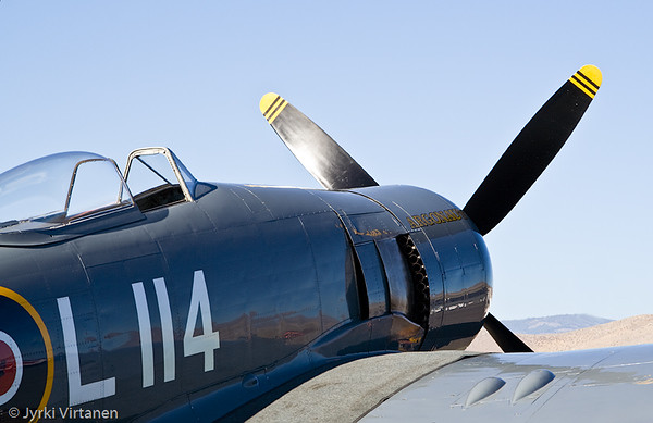 "Hawker Sea Fury ""Argonaut"" - Reno Air Races 2007, NV, USA"