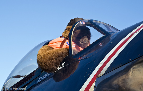 Gorilla pilot - Reno Air Races 2007, NV, USA