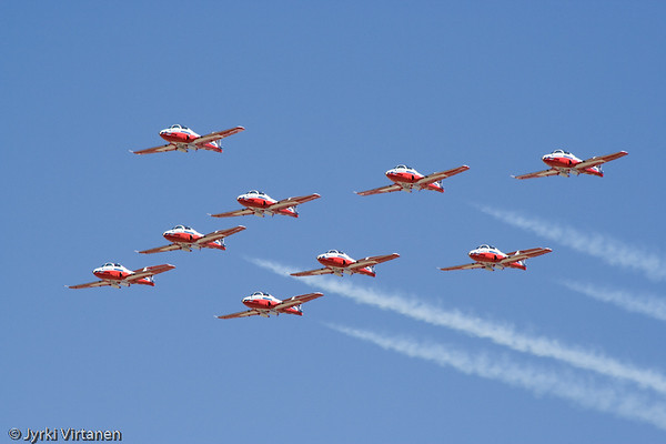 The Snowbirds - Reno Air Races 2007, NV, USA