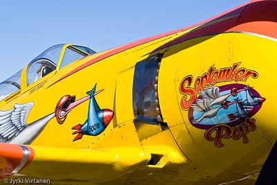 "Hawker Sea Fury ""September Pops"" - Reno Air Races 2007, NV, USA"