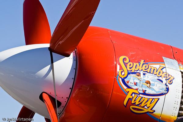 """Hawker Sea Fury """"September Fury"""" - Reno Air Races 2007, NV, USA"""