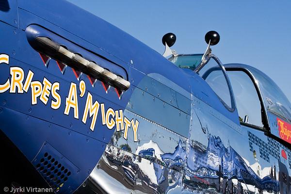 "P51D ""Cripes a' Mighty"" - Reno Air Races 2007, NV, USA"