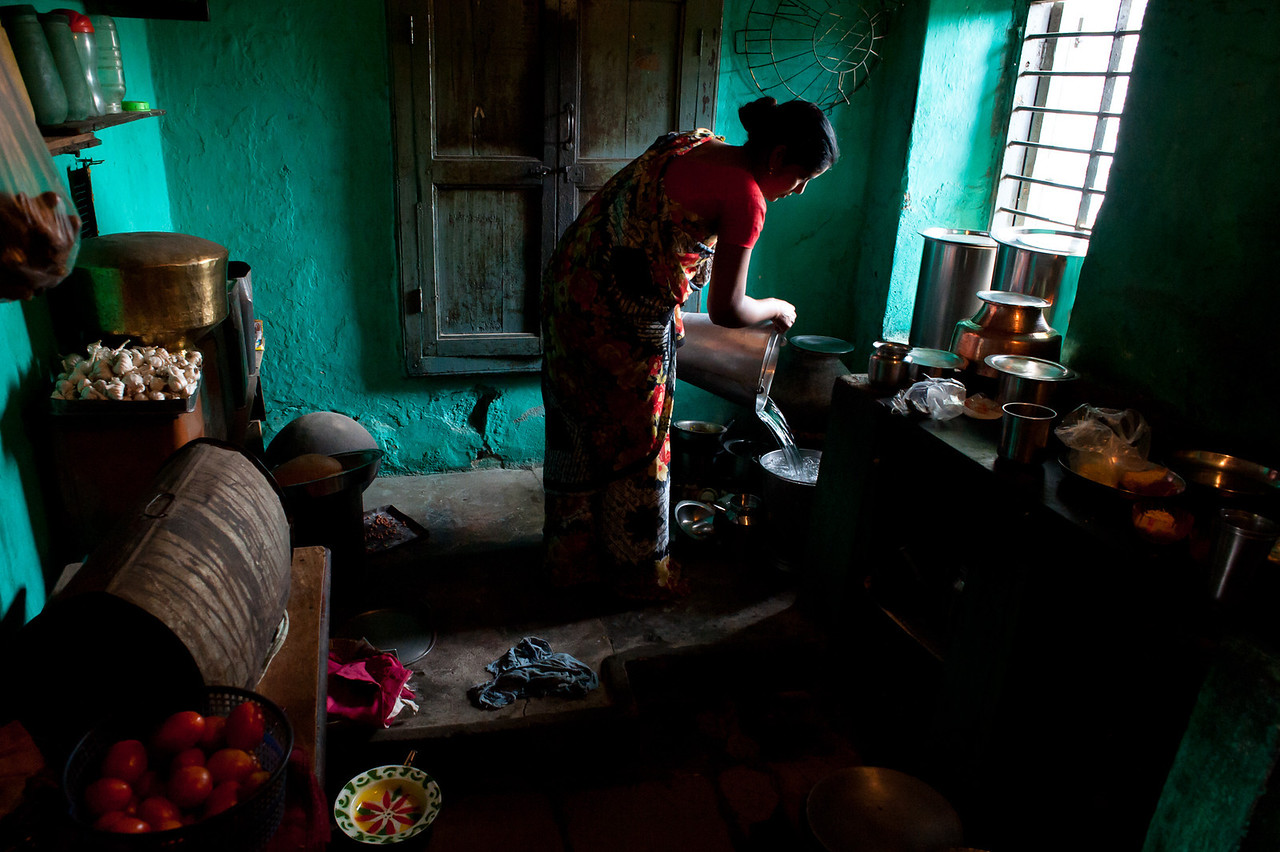 India. 2011. Country house.