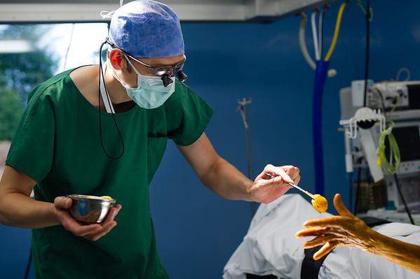 Reportage en salle d'opération