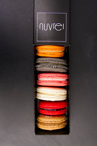 Macarons at Nuvrei