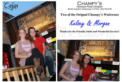 Champy's Fried Chicken won Best of the Best for 2012 in the Fried Chicken contest. Photography by Lloyd R. Kenney III (C) 2012 All Rights Reserved