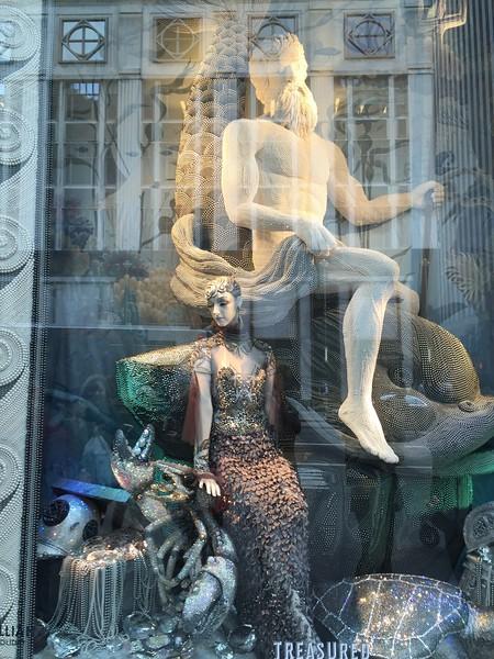 Holiday 2015 windows at Bergdorf Goodman, 5th Ave, NYC