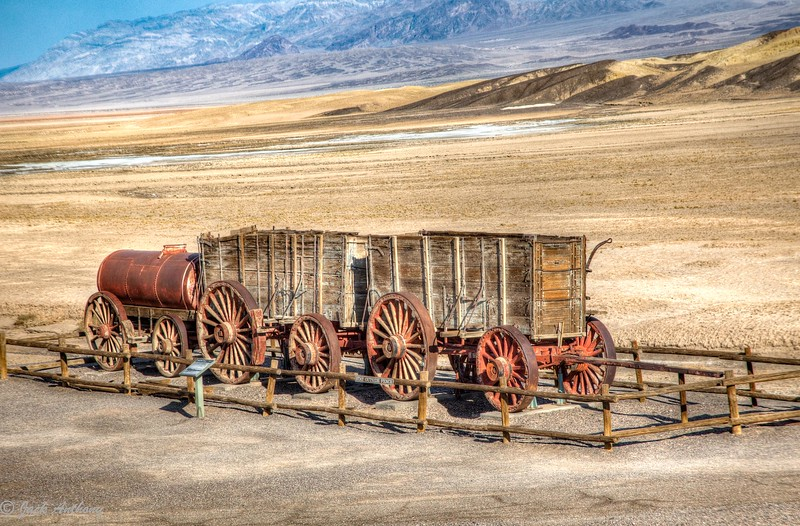 Borax Wagon, Death Valley