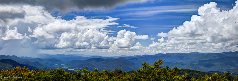View from Rabun Bald, Rabun Co., Ga.