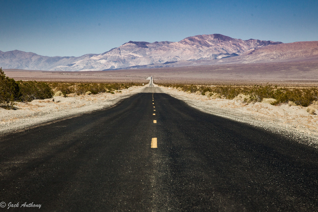 Highway in Death Valley