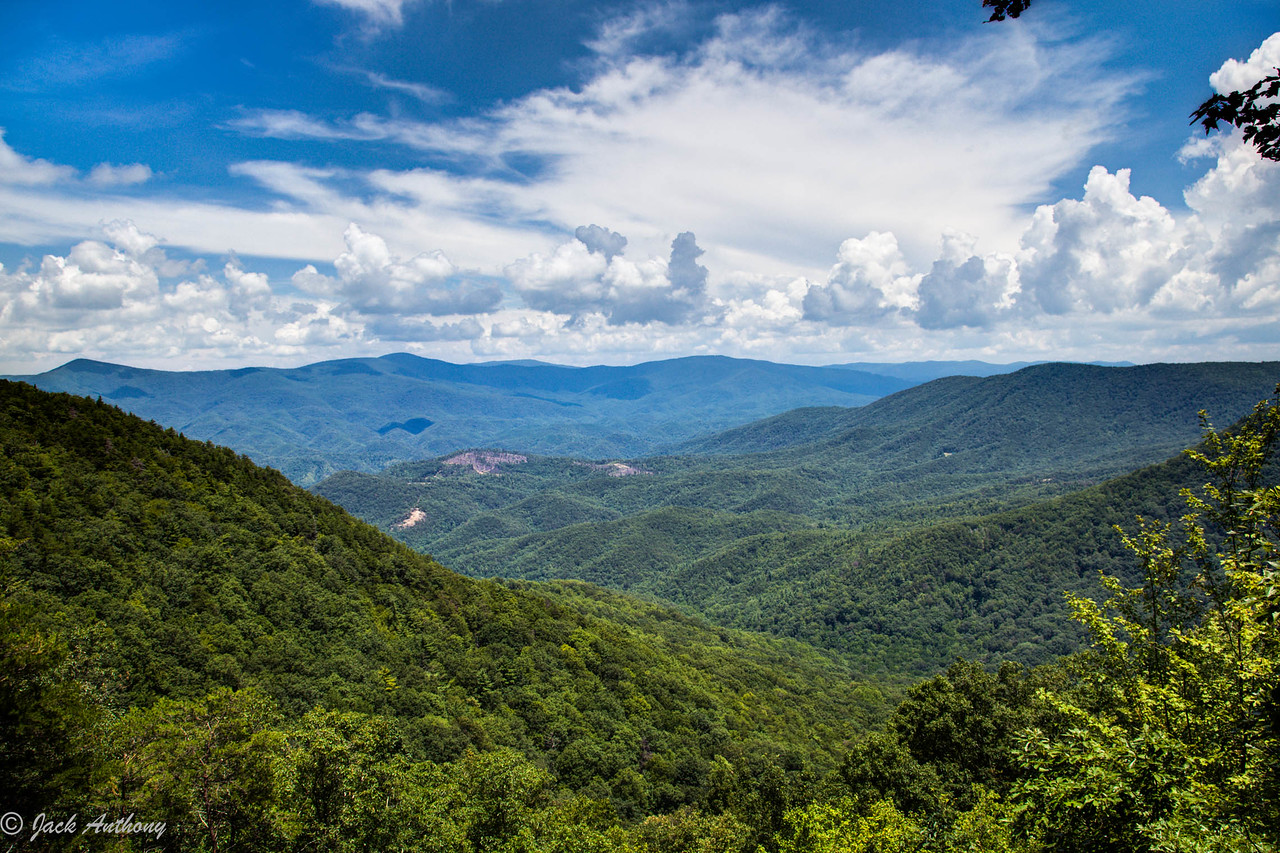 View from Fort Mountain, Ga.