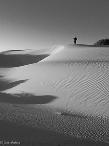 Tom Anthony at White Sands National Monument, New Mexico