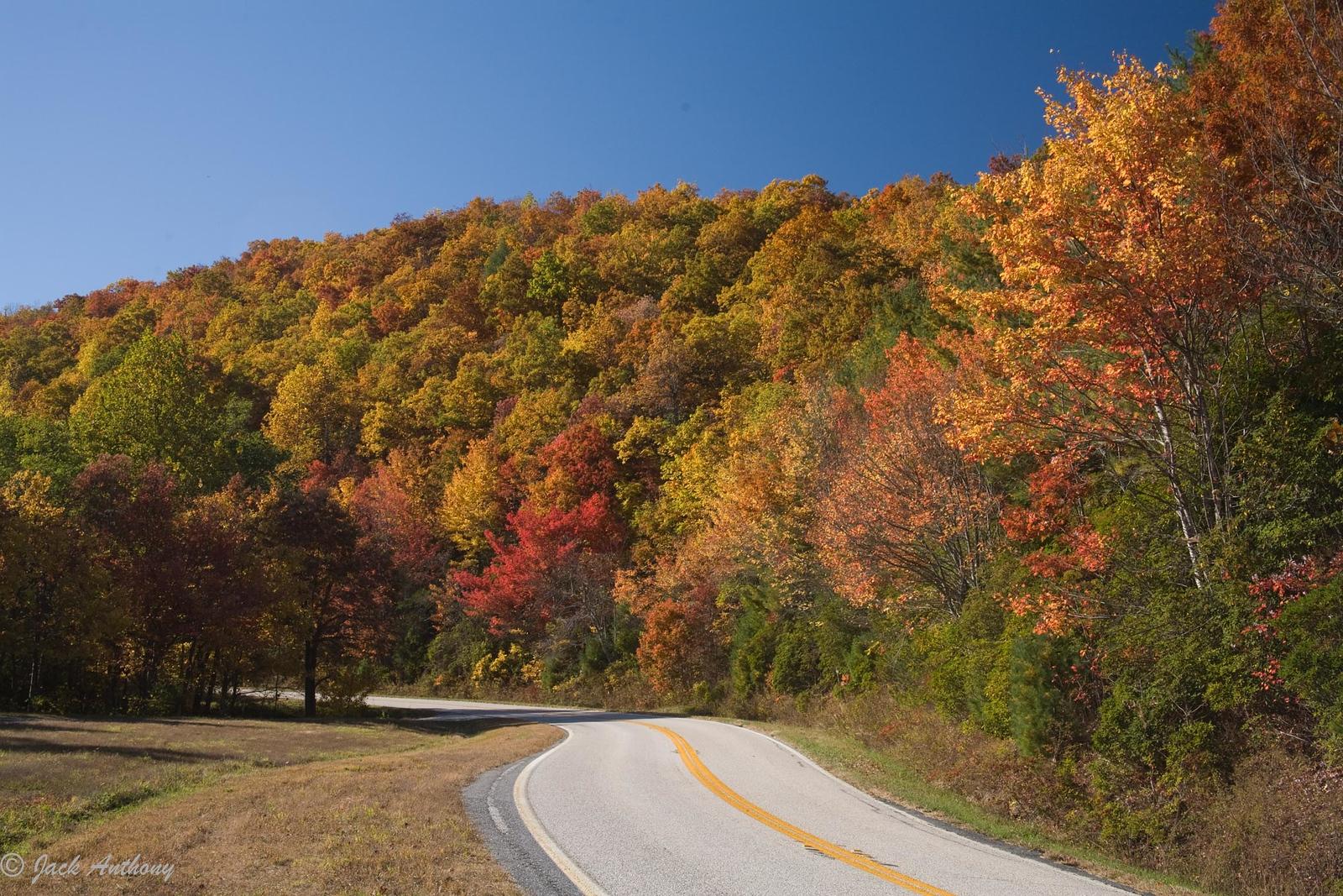 Richard Russell Scenic Highway, White County, GA.