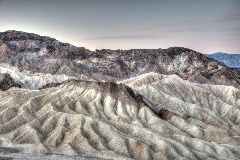 Zabriskie Point, Death Valley, CA