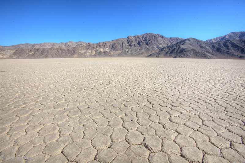 Racetrack Playa in Death Valley, CA.