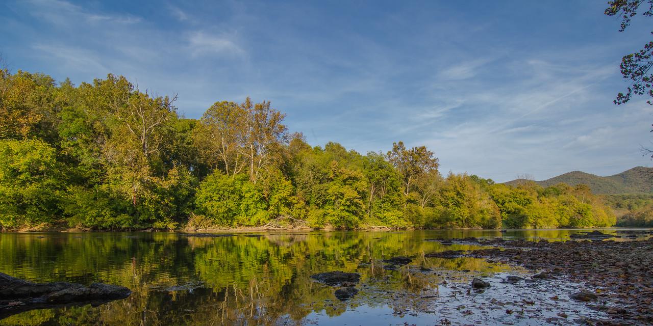 Shenandoah River near Grove Hill Landing