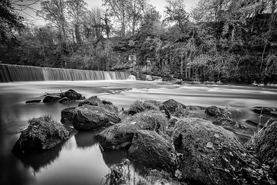 A waterfall on the river Almond near Cramond, Edinburgh.  Follow me on: Facebook | Twitter | Flickr | Pinterest | Model Mayhem