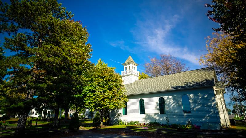 Church on Canfield Fairground