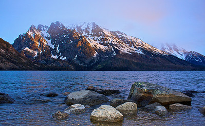 Sunrise Jenny Lake Tetons National Park