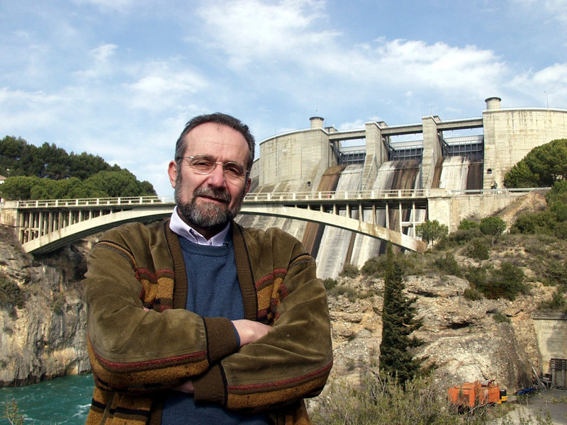 Winner of the 2003 Goldman Environmental Prize for Europe, Pedro Arrojo-Agudo.