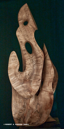 EARTH ANGEL  View #2 16h x 18w x 12d  spalted maple $5000