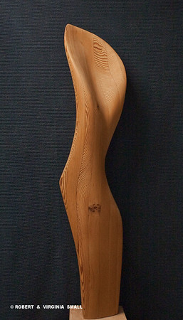 LADY  No 2   (All California Art - 56th National Show) 43H X 7W X 7D   laminated pine NOT FOR SALE