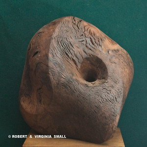 NAUTILUS  View #3 21h X 19w X X16d  black walnut $4500