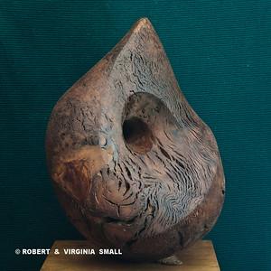 NAUTILUS  View #1 21h X 19w X 16d  black walnut $4500