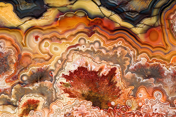 #RA10 Mexican Crazy Lace Agate<br /> <br /> Rock sample provided by Philip Stephenson, RareRocksAndGems.com