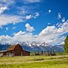 Abandoned Barn with Tetons
