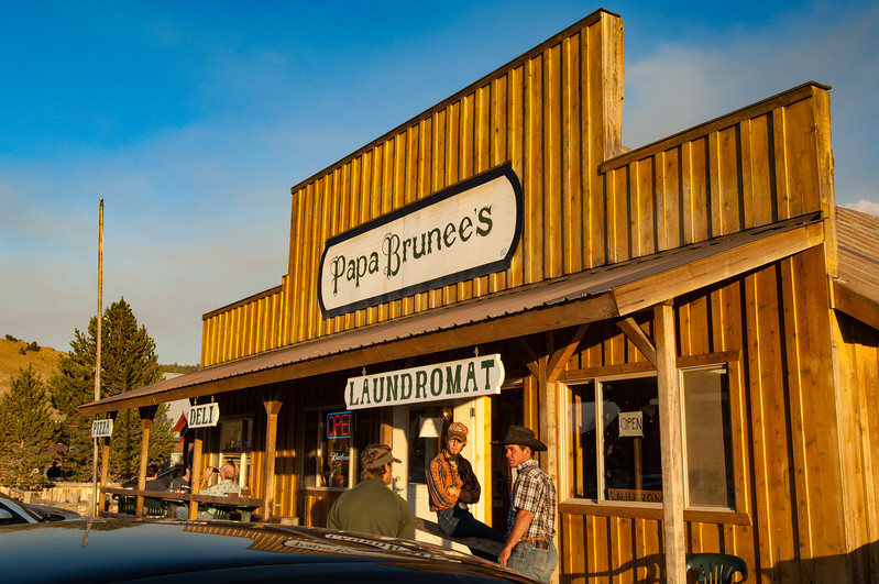 Papa Brunee's, Stanley, Idaho