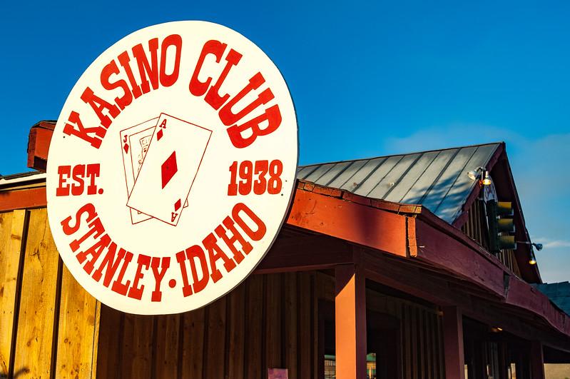 Kasino Club, Stanley, Idaho