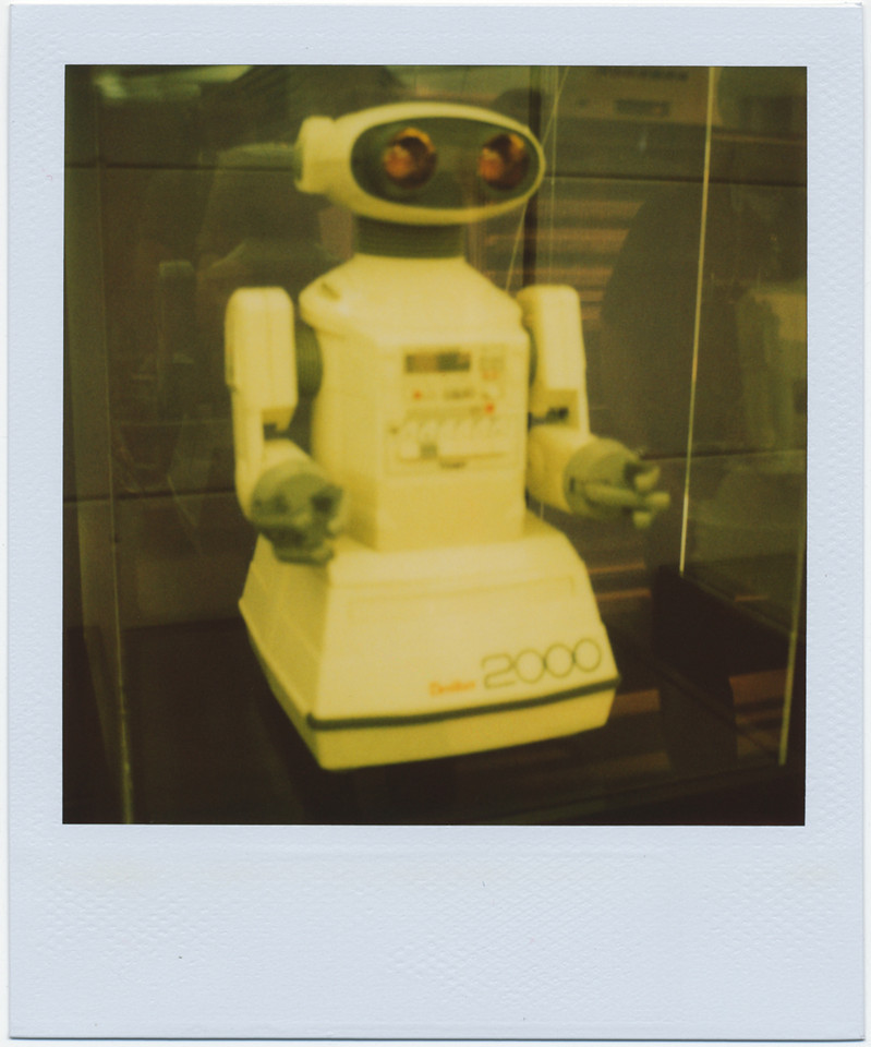 Computer History Museum, Mountain View, 10/3/09<br /> <br /> SLR 680 SE<br /> 600 film