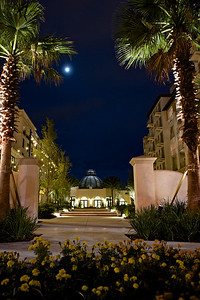 "WPP1348  ""Alfond Inn at Night"" - vertical"