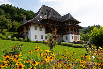 Barsana Monastery Maramures Romania