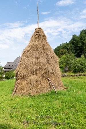 Traditional Hay Pile