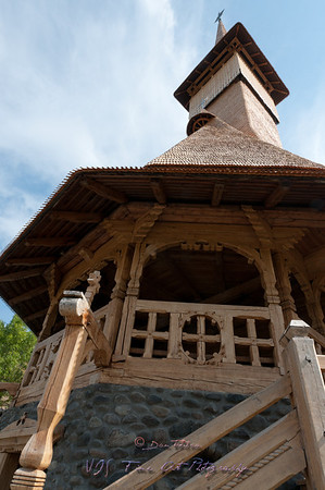 Barsana monastery, one of the main attractions in Maramures, Romania.