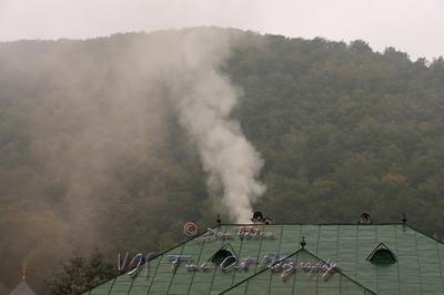 Lainici Monastery, Romania.