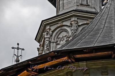 Rooftop, Putna Monastery.