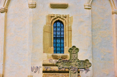 Church wall, Putna Monastery.