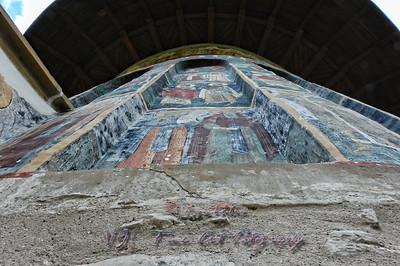 Sucevita Monastery, Romania.