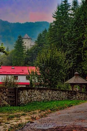 Tismana Monastery, Romania.
