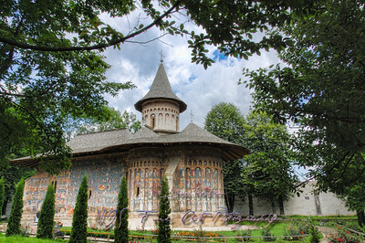 Voronet Monastery Church.