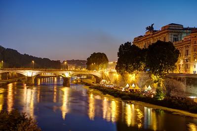 Rome. Tevere.