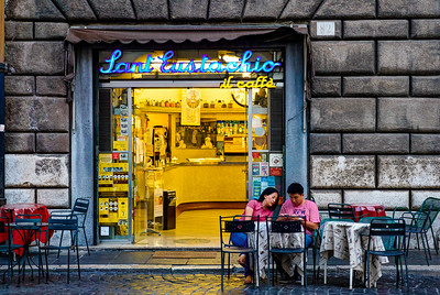 Rome. Sant' Eustachio. The best coffee in Rome, maybe the world.