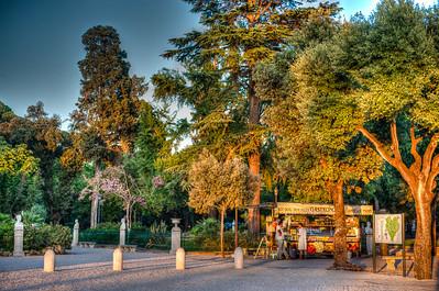 Rome. Villa Borghese