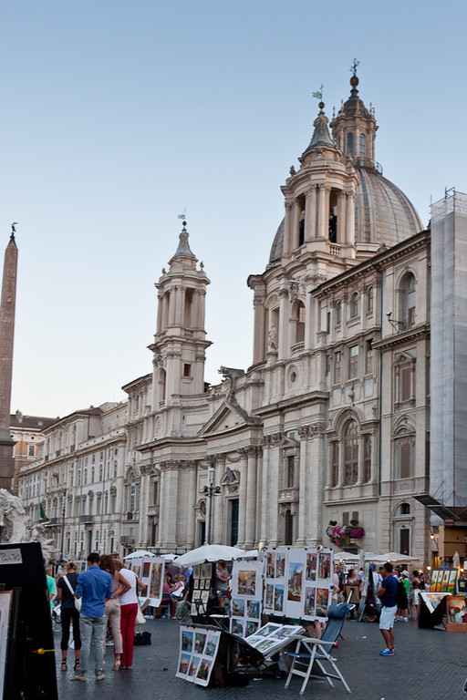 Church of Sant'Agnese in Agone in Piazza Navona
